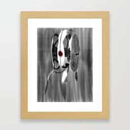 Is Someone There? Framed Art Print