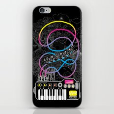 Music Coaster iPhone Skin