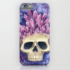 Amethyst Crowned Skull Slim Case iPhone 6s