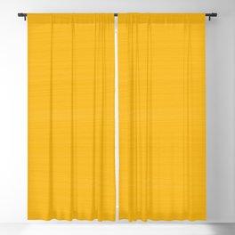 Sun Drenched Honey Mustard - Subtle Brush Texture Blackout Curtain