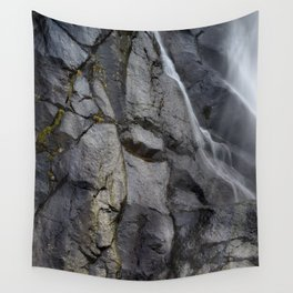 Aber Waterfall mimetolith Wall Tapestry