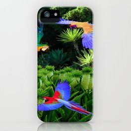 Jungle Paradise iPhone Case