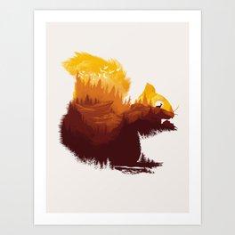 Be  a Little Wild Art Print