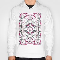 calligraphy Hoodies featuring Abstract Calligraphy  by Martha Calderon