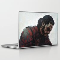 venom Laptop & iPad Skins featuring Venom Snake by Ilya Brovkin