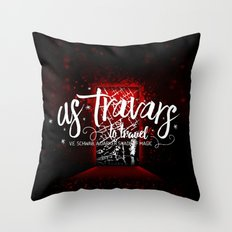 As Travars Throw Pillow