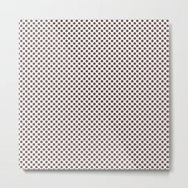 Fudgesickle Polka Dots Metal Print