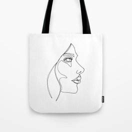 DISAPPOINTMENT ( ONE LINE DRAW) Tote Bag