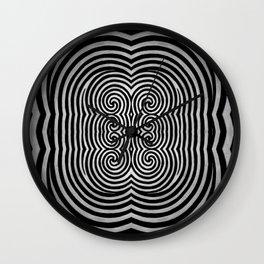 Cronky Acid Black and White Wall Clock