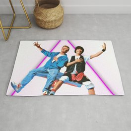 ~ Bill and Ted ~ Rug