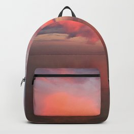 Red sunset Backpack