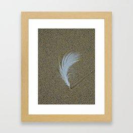 Sand Surfer Framed Art Print