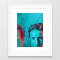 mulder Framed Art Prints featuring Mulder by ZEKE