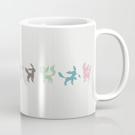 Eeveelution Coffee Mug