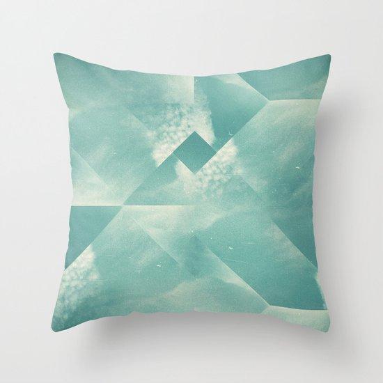 sky for walk Throw Pillow