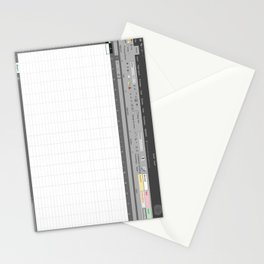 Excel Spreadsheet Stationery Cards