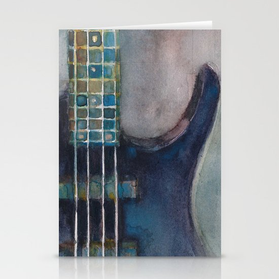 Ed's Bass Stationery Cards