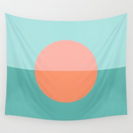 Beach sunset abstract  Wall Tapestry