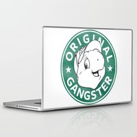 starbucks Laptop & iPad Skins featuring Franklin The Turtle - Starbucks Design by CongressTarts