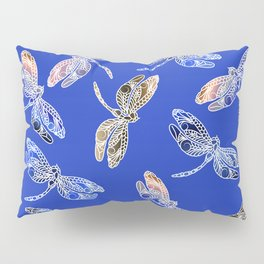 Dragonflies Blue Pillow Sham