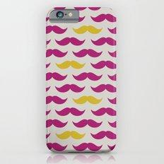 Mustache pattern Slim Case iPhone 6s