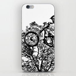 Stealing the Air - Freestyle Motocross Rider iPhone Skin