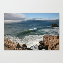 Catch A Wave In San Francisco  Canvas Print