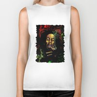 marley Biker Tanks featuring MARLEY - MARLEY by Raisya