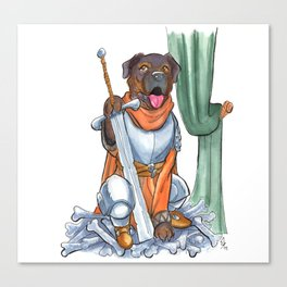 DogDays19 Pica Canvas Print