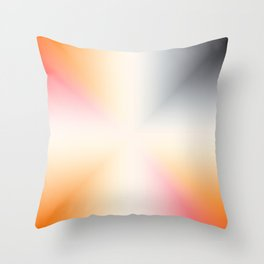 Color Gradient 16 Throw Pillow