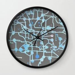 Inverted Circuit Breaker Wall Clock
