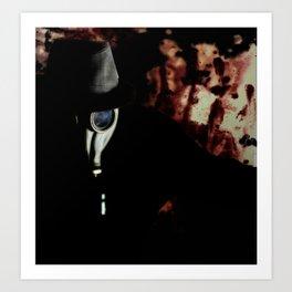 Fear the Rise of The Gasman Art Print