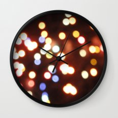 USA - Philadelphia - Lights Wall Clock
