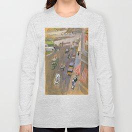 Fifth Avenue, New York by Joaquin Sorolla Long Sleeve T-shirt