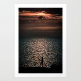 Fisherman Art Print