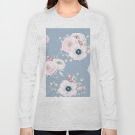 Dog Roses #society6 #buyart Long Sleeve T-shirt