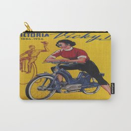 Vintage poster - Moped Carry-All Pouch