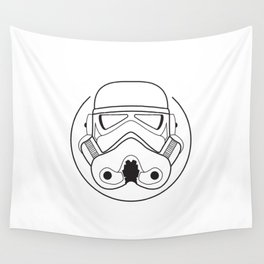 Stormtrooper from Galactic Empire. Wall Tapestry