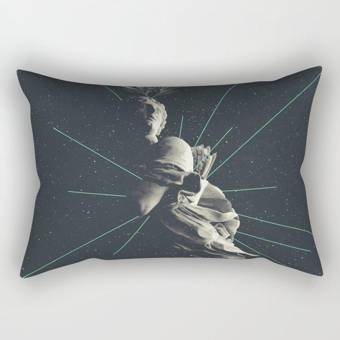 Marbled Dignity Rectangular Pillow