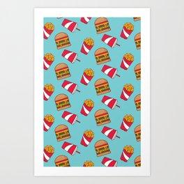 Food Junkie II Art Print