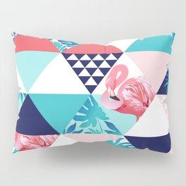 seamless pink flamingo pattern Pillow Sham