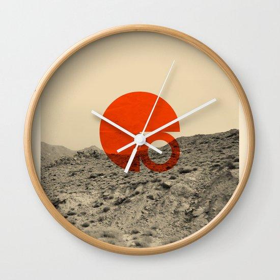 Symbol of Chaos Invert version Wall Clock