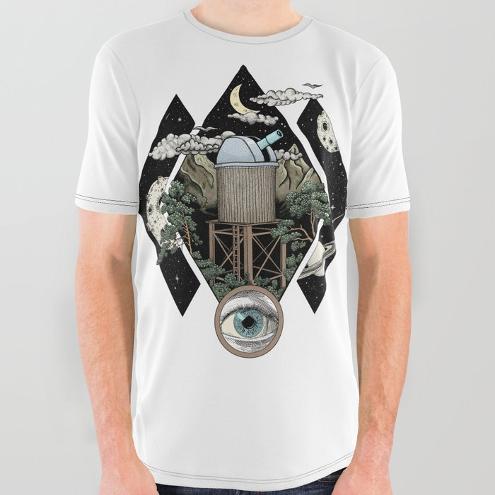 Through the looking glass and what i found there All Over Graphic Tee