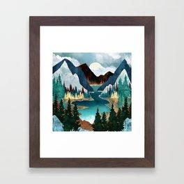 River Vista Framed Art Print