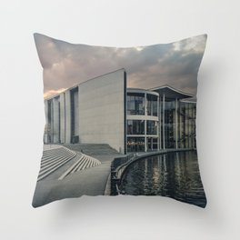 Paul-Löbe-Haus Throw Pillow
