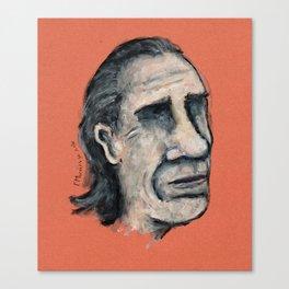 Charles Bukowski Canvas Print