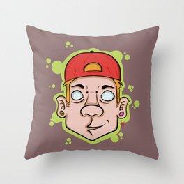 Hip Hop guy Throw Pillow