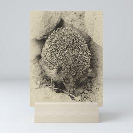 Cute visitor Mini Art Print