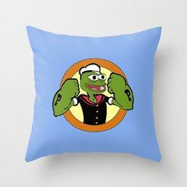 Pepeye Throw Pillow