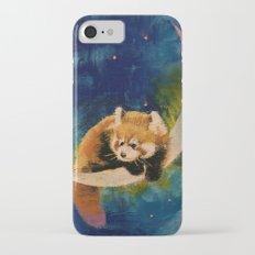 Red Panda Moon iPhone 7 Slim Case